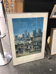 Sale 8903 - Lot 2084 - Framed Vintage 1996 Atlanta Olympic Poster, 102x72cm