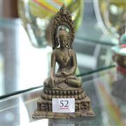 Sale 8362 - Lot 52 - Bronze Buddha Figure
