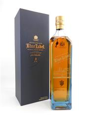 Sale 8514 - Lot 1718 - 1x Johnnie Walker Blue Label Blended Scotch Whisky - commemorative edition for Sydney, 1000ml in box