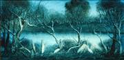 Sale 8583 - Lot 554 - Kevin Charles (Pro) Hart (1928 - 2006) - Waterbirds 30 x 60.5cm