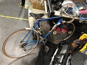 Sale 8819 - Lot 2240 - Vintage Road Bike with Leather Seat