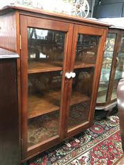 Sale 8822 - Lot 1568 - Glass Front Cabinet