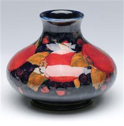 Sale 9093P - Lot 81 - Moorcroft Pomegranate Vase, h. 11cm.
