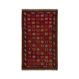 Sale 9149C - Lot 33 - PERSIAN QASHGAI KILIM, 175X300cm