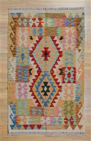Sale 8559C - Lot 89 - Persian Chobi Kilim 133cm x 82cm