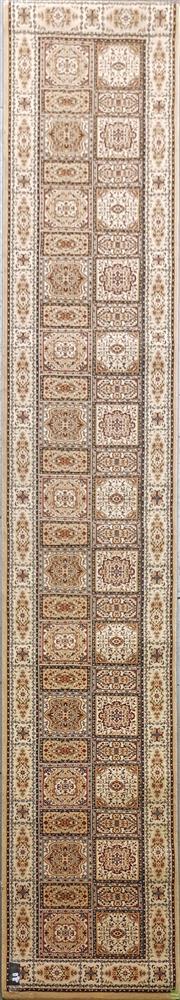Sale 8629 - Lot 1022 - Turkish Kashan Runner (400 x 80cm)
