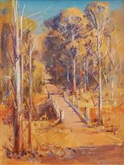 Sale 8665A - Lot 5024 - John Borrack (1933 - ) - Summer at Arthurs Creek near Mernda, VIC 39 x 29cm