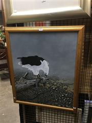 Sale 8711 - Lot 2033 - Pat Watson - Eagle and Prey acrylic on canvas on board, 60 x 50cm, signed lower right -