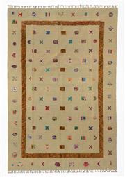 Sale 8780C - Lot 227 - A Persian Sumak Hand Woven Wool, 311 x 208cm