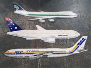 Sale 8809B - Lot 620 - Collection of Aircraft Form Advertising Boards inc Air New Zealand, 102cm longest