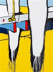 Sale 8839A - Lot 5011 - Jasper Knight (1978 - ) - Satellites, 2015 102 x 77cm