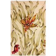Sale 8860C - Lot 3 - An India Tropics Design Carpet, with carving, in Handspun Wool 160x230cm