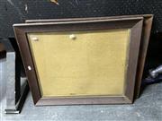 Sale 8888 - Lot 2078 - Pair of Antique Oak Picture Frames