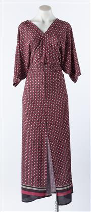 Sale 9003F - Lot 48 - A Passerella Italian made, pink and beige maxi dress, size L