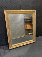 Sale 9059 - Lot 1086 - Gilt Timber Frame Mirror (H73 x 62cm)