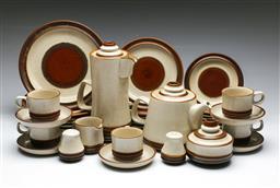 Sale 9156 - Lot 73 - A Denby stoneware part dinner/tea service