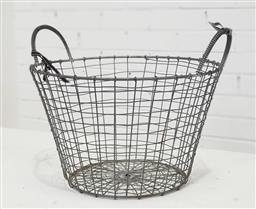 Sale 9154 - Lot 1072 - Wire Planter (Dia;37cm,H;32cm)