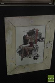 Sale 8525 - Lot 2035 - Framed Print