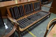 Sale 8550 - Lot 1074 - Retro Three Seater (no cushions)