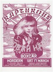 Sale 8766A - Lot 5045 - Deborah Harry with Boxcar - screenprint