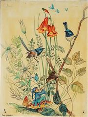 Sale 8867 - Lot 593 - Pixie OHarris (1903 - 1991) - Untitled 61 x 45.5 cm