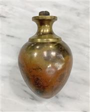 Sale 8951P - Lot 342 - American Perfection Brass Plumb Bob. Unfilled, (9cm)