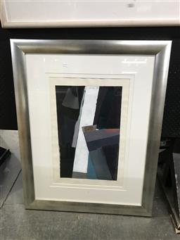 Sale 9103 - Lot 2096A - A. Minechi - Abstract, mixed media, SLR