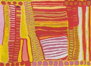 Sale 8321 - Lot 519 - Anmanari Brown (c1932 - ) - Minyma Kutjara, 2005 100 x 139cm (framed & ready to hang)