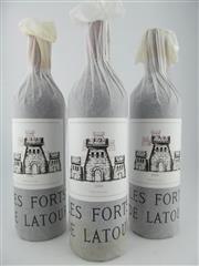 Sale 8411 - Lot 669 - 3x 2004 Les Forts de Latour, Pauillac - second wine of Chateau Latour