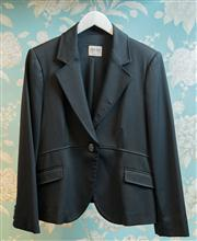 Sale 8474A - Lot 85 - A chic Armani Collezoni designer black tuxedo style jacket -  Condition: Excellent - Size: 14
