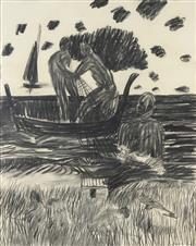 Sale 8738 - Lot 566 - Kevin Connor (1932 - ) - The Harvest at Almayate Bato, 1969 75 x 59.5cm