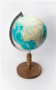 Sale 8739 - Lot 58 - World Globe on Stand