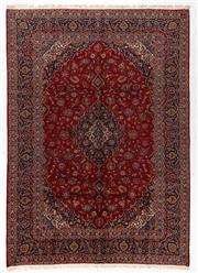 Sale 8740C - Lot 39 - A Persian Kashan From Isfahan Region 100% Wool Pile On Cotton Foundation, 380 x 270cm