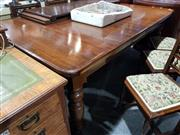 Sale 8760 - Lot 1065 - Victorian Extension Dining Table (winder in office)