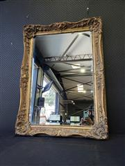 Sale 9051 - Lot 1017 - Ornate Gilt Framed Mirror