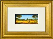 Sale 8344 - Lot 554 - Kevin Charles (Pro) Hart (1928 - 2006) - Mine Head 10 x 25.5cm