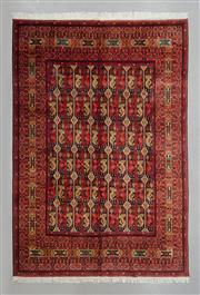 Sale 8499C - Lot 62 - Afghan Kargahi 300cm x 200cm