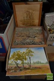 Sale 8522 - Lot 2067 - Collection of Various Artworks & Prints, Various Media & Sizes
