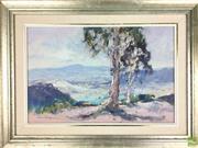 Sale 8589R - Lot 57 - Allan Hanson - Oil on Board (44 x 29cm)