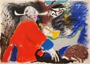 Sale 8606 - Lot 510 - Tracey Moffatt (1960 - ) - Highwayman and Dogs 55.5 x 76.5cm
