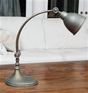 Sale 8694A - Lot 7 - A contemporary brass effect lamp H x 48cm