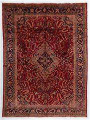 Sale 8760C - Lot 3 - A Persian Lilihan 100% Wool Pile, 435 x 330cm