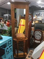 Sale 8822 - Lot 1712 - Timber Hall Stand