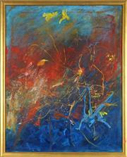 Sale 8838A - Lot 5005 - Margarita (Rita) Georgiadis (1968 - ) - Untitled (Abstract I) 75.5 x 60cm
