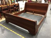 Sale 8893 - Lot 1034 - Timber King Sized Sleigh Frame