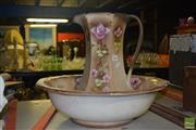 Sale 8509 - Lot 2266 - Edwardian Jug & Bowl Set