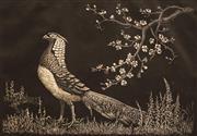 Sale 8675 - Lot 598 - Lionel Lindsay (1874 - 1961) - Spring 15 x 21.5cm