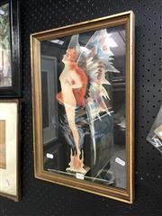 Sale 8811 - Lot 2010 - D. Cooper Fairy watercolour and gouache, 45 x 30.5cm, signed lower left -