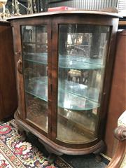 Sale 8822 - Lot 1566 - Art Deco Glass Front Display Cabinet