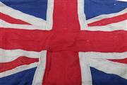 Sale 9003 - Lot 28 - A Vintage British Flag ( 160cm x 80cm) (some Losses)